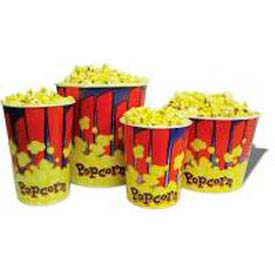 BenchMark USA 41446 Popcorn Buckets 46 oz 100/Tubs