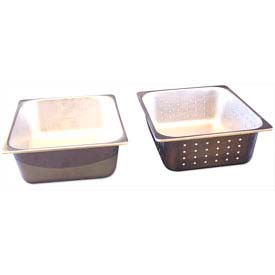 """Benchmark USA-56743, Half Perforated Pans, Stainless Steel, 10-1/4x12-1/2x4"""""""