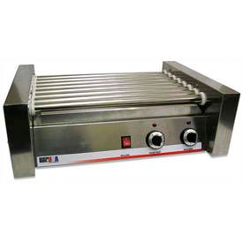 Benchmark USA 62030, Hot Dog Roller Grills, Stainless Steel, 30 Hotdogs, 120 Volt
