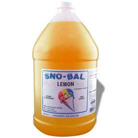 Snow Cone Syrups - Lemon - Pkg Qty 4