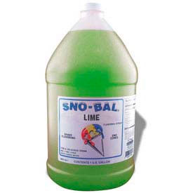 Snow Cone Syrups - Lime - Pkg Qty 4