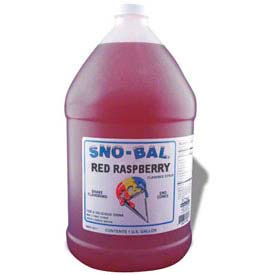 Snow Cone Syrups - Red Raspberry - Pkg Qty 4