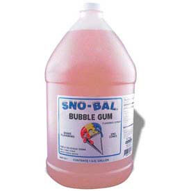 Snow Cone Syrups - Bubble Gum - Pkg Qty 4