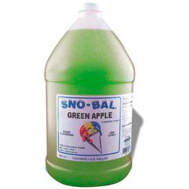 Snow Cone Syrups - Green Apple - Pkg Qty 4