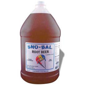 Snow Cone Syrups - Root Beer - Pkg Qty 4
