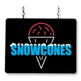"LED Sign ""Snow Cones"""