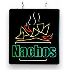 "BenchmarkUSA-92004, LED Nacho Sign, 17x16x1-1/4"""
