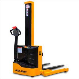 """Blue Giant® Powered Light Duty Straddle Stacker EPS22-62 - 2200 Lb. Cap. - 62"""" Lift"""
