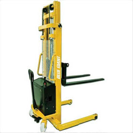 "Blue Giant® Manual Push Stacker XPS22-62 - 2200 Lb. Cap. - 62"" Lift- Pkg Qty 1"