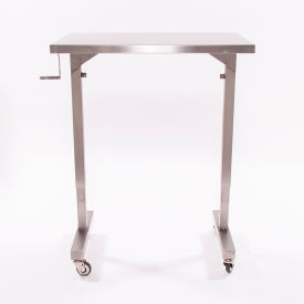 """Blickman 7892SS-O Adjustable Height Instrument Table, 36"""""""