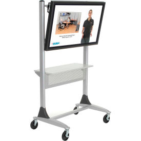 "Balt® 27544 Platinum Flat Panel Cart, 67""H x 35""W x 25-1/2""D"