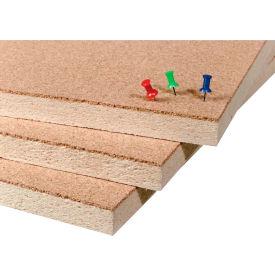 "Balt® Natural Add Cork Tackboard - Unframed, 48""W x 96""H"
