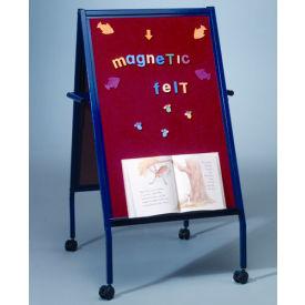Balt® Magnetic Flannel Easel on Wheels