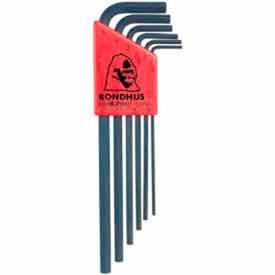 Bondhus 12146 Set 6 Hex L-wrenches 1.5-5mm - Long