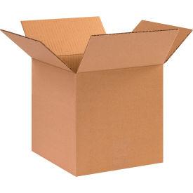 "Cube Cardboard Corrugated Boxes 10"" x 10"" x 10"" 200#/ECT-32 - Pkg Qty 25"