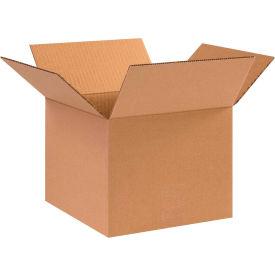 "Cardboard Corrugated Boxes 10"" x 10"" x 8"" 200#/ECT-32 - Pkg Qty 25"