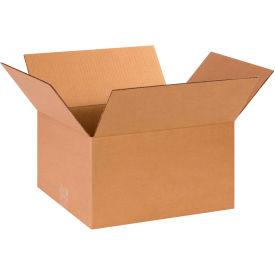 "Cardboard Corrugated Boxes 14"" x 12"" x 8"" 200#/ECT-32 - Pkg Qty 25"