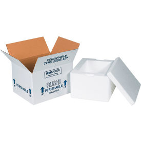 "Insulated Shipping Kit, 12"" x 10"" x 7""- Pkg Qty 1"