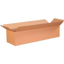 "Long Cardboard Corrugated Boxes 26"" x 6"" x 6"" 200#/ECT-32 - Pkg Qty 25"
