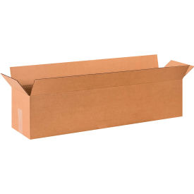 "Long Cardboard Corrugated Boxes 36"" x 8"" x 8"" 200#/ECT-32 - Pkg Qty 25"