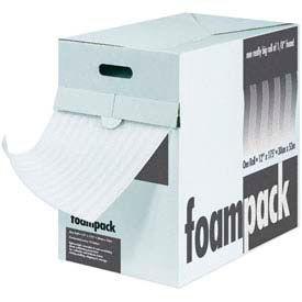 "Air Foam Dispenser Packs 24""W x 85'L, 1/4"" Thickness, White"