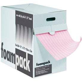"""Air Foam Anti-Static Dispenser Packs 24""""W x 175'L, 1/8"""" Thickness, Pink"""