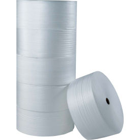 "Air Foam Rolls 6""W x 250'L, 1/4"" Thickness, White, 12 Rolls Pack"