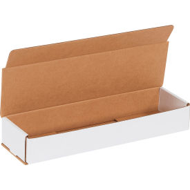"Corrugated Mailers 14"" x 4"" x 2"" 200#/ECT-32 White - Pkg Qty 50"