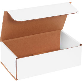 """Corrugated Mailers 9"""" x 5"""" x 3"""" 200#/ECT-32 White - Pkg Qty 50"""