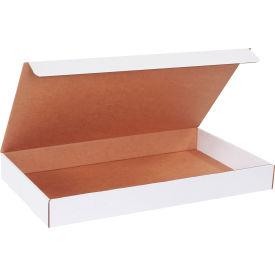 "Corrugated Literature Mailers 23"" x 13"" x 2-1/2"" 200#/ECT-32 White - Pkg Qty 50"