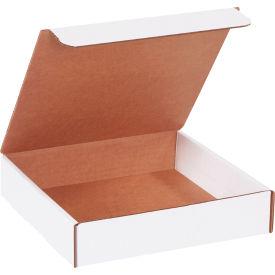 "Corrugated Literature Mailers 9"" x 9"" x 2"" 200#/ECT-32 White - Pkg Qty 50"
