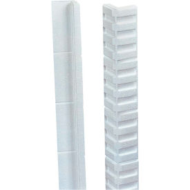 "Foam Edge Protectors 24"" x 3"" x 3"" White, 150/Case"
