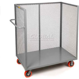 Little Giant® 3-Sided Bulk Truck T1-3060-6PY Mesh Sides 30x60 6 x 2 Polyurethane Wheels