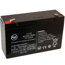 AJC® Lightguard G6012G 6V 12Ah Emergency Light Battery