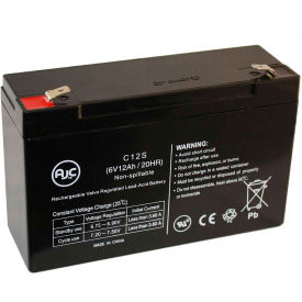 AJC® Elan 1627 6V 12Ah Emergency Light Battery