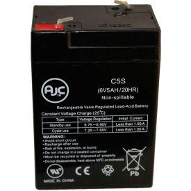 AJC® Powersonic DH54 6V 5Ah Emergency Light Battery