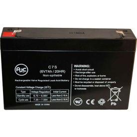 AJC® Elan 1610 6V 7Ah Emergency Light Battery
