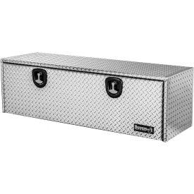Buyers Products Smooth Aluminum Underbody Truck Box w//Barn Door 18x18x48 Inch