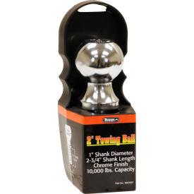 """Towing Ball - 2"""" Dia. X 2-3/4"""" Shank - 10,000 Lb. Cap. Chrome - Min Qty 5"""