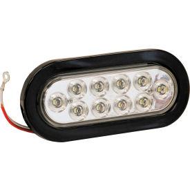 "6-1/2"" ovale 10 LED claire sauvegarde lumière w / oeillet & Plug - 5626310"