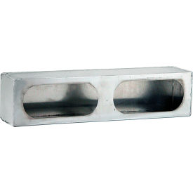 Dual Oval Stainless Steel Light Cabinet - LB3163SST