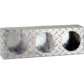 Triple Round Diamond Thread Aluminum Light Cabinet - LB6183ALDT