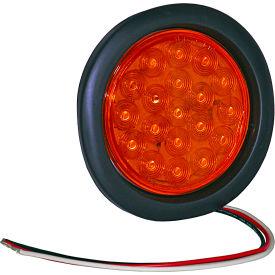 "4"" Round Recessed Amber Strobe Light - SL40AR"