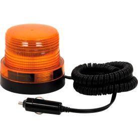 12v Magnetic Mount Amber Mini Strobe Light - SL500A