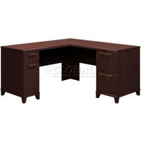 """Bush Furniture 60""""L Desk - Mocha Cherry - Enterprise Series"""