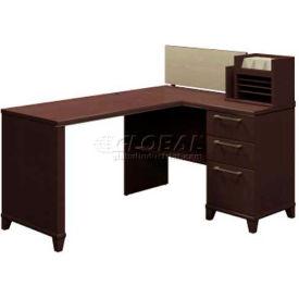 "Bush Furniture Corner Desk - 60"" - Mocha Cherry - Enterprise Series"