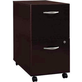 Bush Furniture Two Drawer File Cabinet - Mocha Cherry - Series C