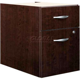 Bush Furniture 3/4 File Cabinet (Unassembled) - Mocha Cherry - Series C