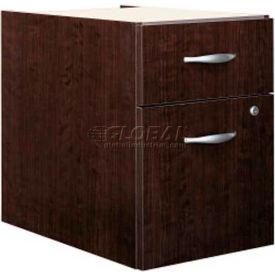 Bush Furniture 3/4 File Cabinet (Assembled) - Mocha Cherry - Series C- Pkg Qty 1