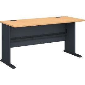 """Bush Furniture 60"""" Desk - Beech - Series A"""